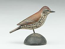 Miniature sparrow, Elmer Crowell, East Harwich, Massachusetts.