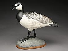 Very rare, possibly one of a kind, full size standing, barnacle goose, Robert Kerr, Smith Falls, Ontario.