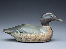 Greenwing teal drake, Mason Decoy Factory, Detroit, Michigan, 1st quarter 20th century.
