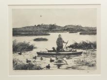 """""""Duck Hunter"""", Aiden Lassell Ripley (1896-1969)."""