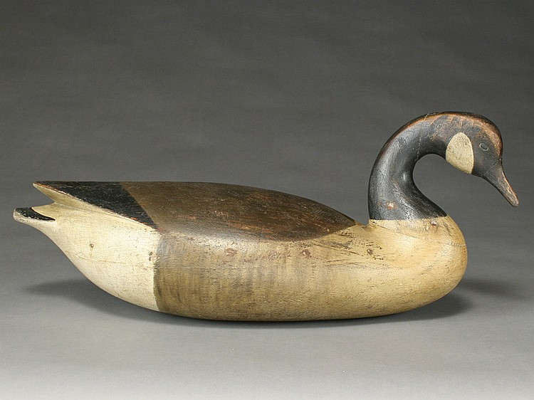 Exceptionally well carved Canada goose, Cameron McIntyre, Stockton, Maryland.