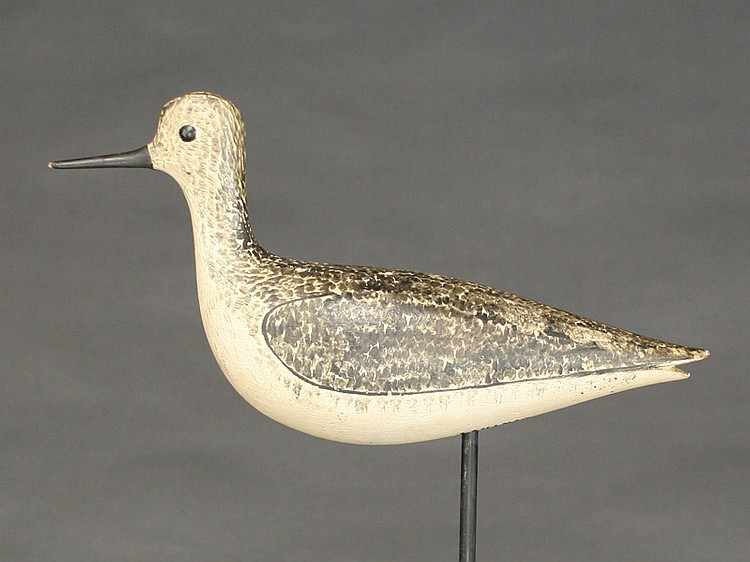 Classic yellowlegs, George Boyd, Seabrook, New Hampshire, 1st quarter 20th century.