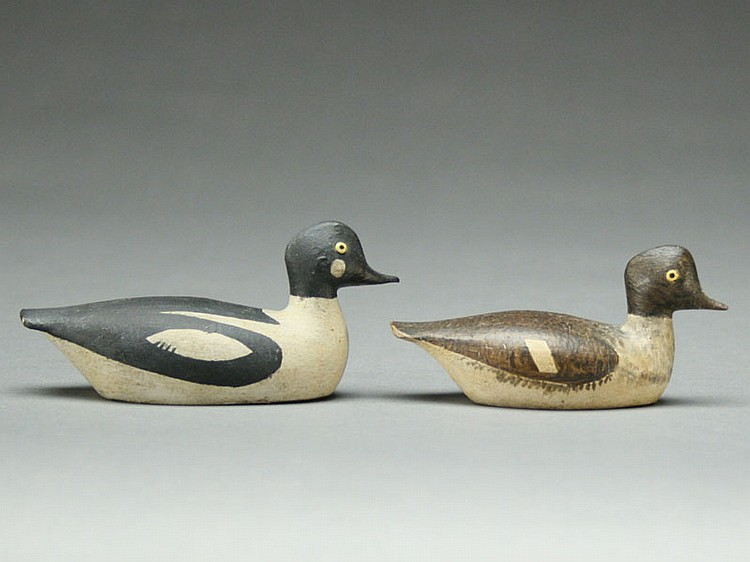 Pair of miniature goldeneye, George Boyd, Seabrook, New Hampshire.