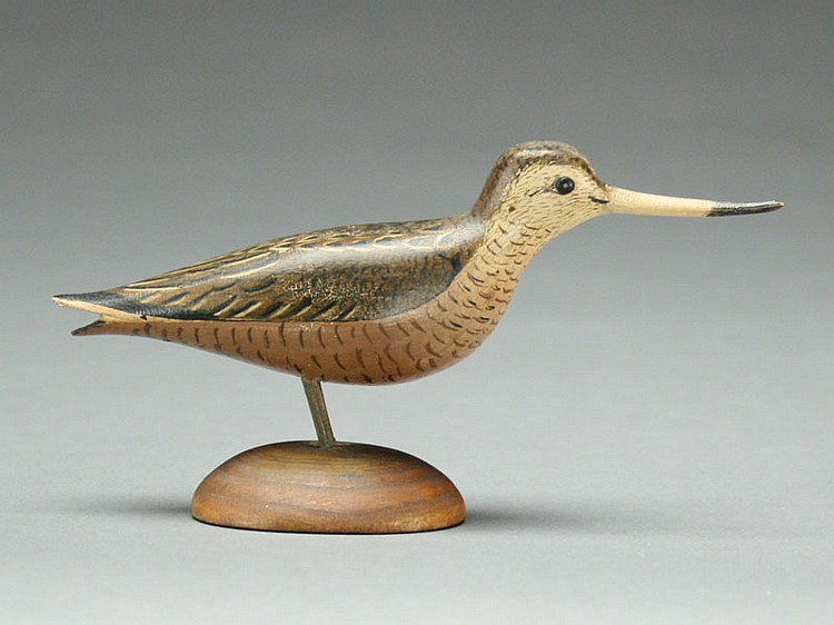 Miniature godwit, George Boyd, Seabrook, New Hampshire.