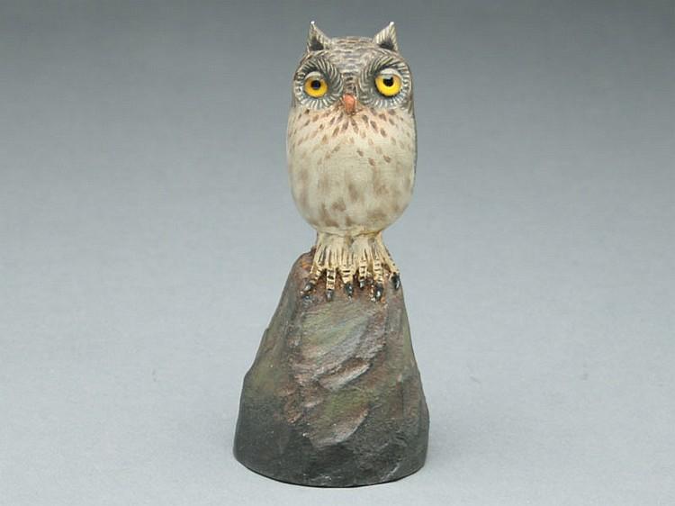 Owl, A.E. Crowell, East Harwich, Massachusetts.