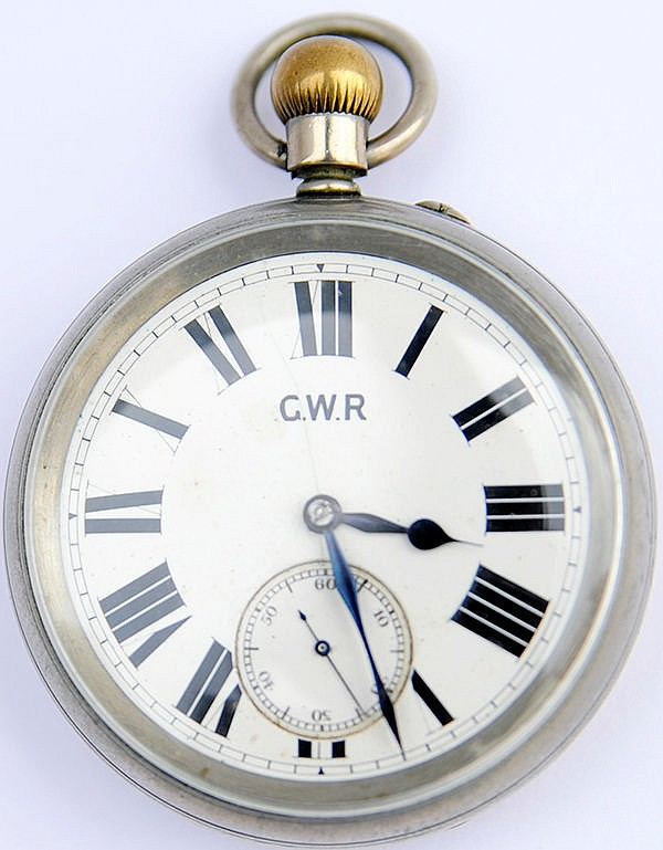 GWR pre-grouping Pocket Watch manufactured by