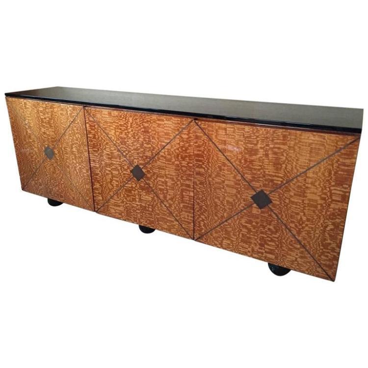 1970s roche bobois sideboard. Black Bedroom Furniture Sets. Home Design Ideas