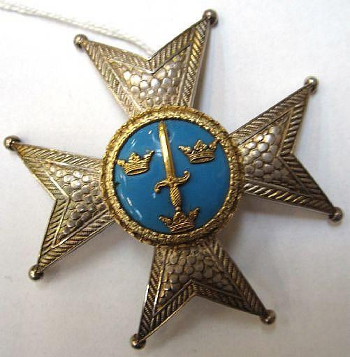 Ordenstecken, kraschan, silver, Kommendör 1 kl av