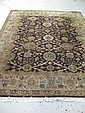 HAND-KNOTTED WOOD AREA RUG