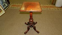 Fancy carved parlor table / bookstand. SSR
