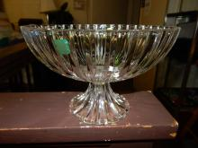 Lovely Marquis Waterford crystal footed fruit bowl, COND VG