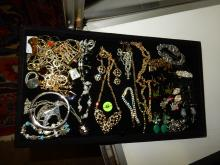 Nice tray of estate ladies jewelry, No tray