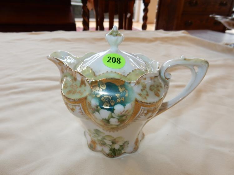 Vintage porcelain RS Prussia creamer, cond VG