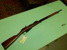 Original Military rifle, Russian Mosin Nagant M91, 1915 bolt action rifle, 7.62, SN# N250501, FFL paperwork and $25. fee please see lot 401A
