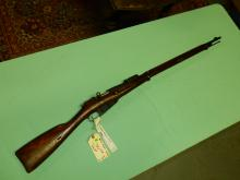 Original Military rifle, Russian M91 Mosin Nagant bolt action rifle, 7.62, SN# 193635F, FFL paperwork and $25. fee please see lot 401A
