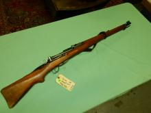 Original Military rifle, Swiss SR, straight pull bolt rifle, SN# 947497 FFL paperwork and $25. fee please see lot 401A