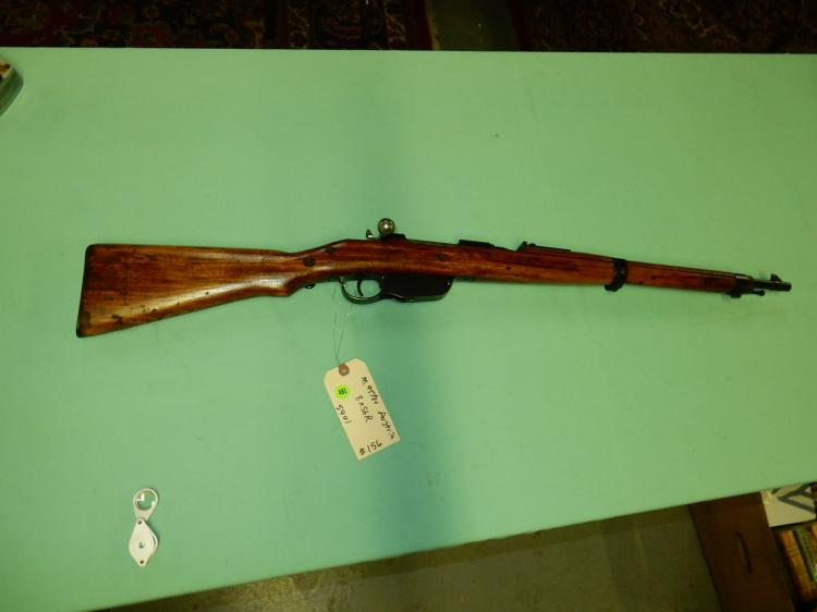 Original Military rifle, Steyr M95 bolt action rifle, SN# 59