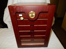 Nice 6 drawer tobacco humidor cabinet