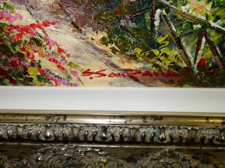 2 original oil painting on canvas by listed artist sam park Paintings that are worth a lot of money
