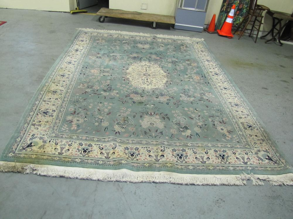 727 Hand Knotted 100 Wool Oriental Rug 9 X 12 As Seen