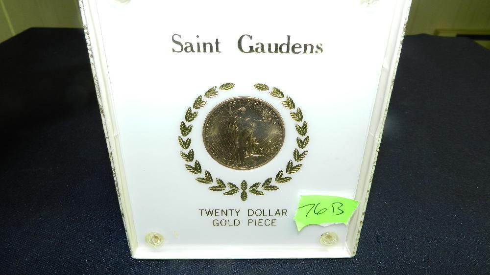 wonderful US Gold Double Eagle, St. Gaudens twenty dollar gold coin 1908-P Uncirulated