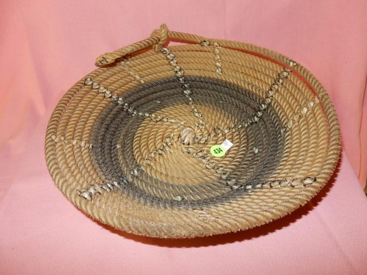 Unique lasso rope made into bowl