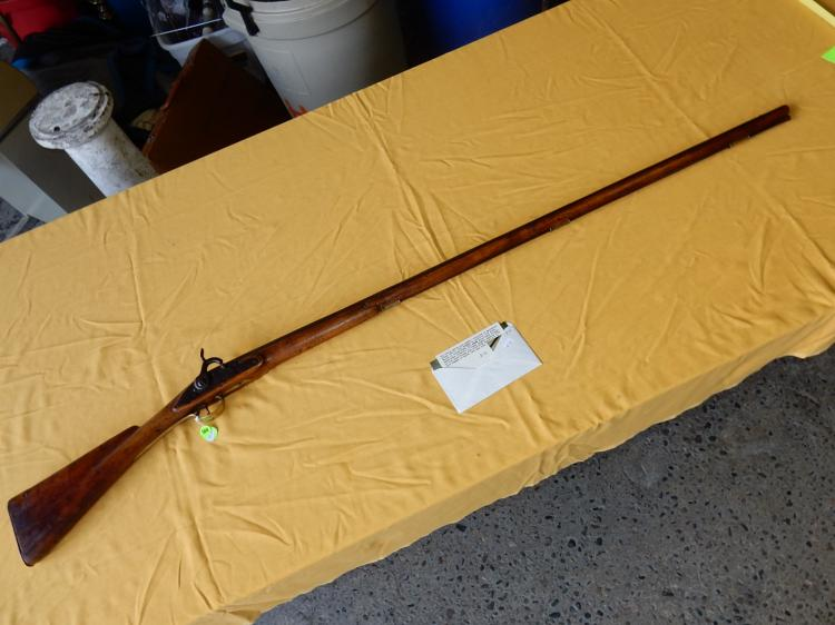Antique musket, converted to percussion rifle, No FFL required