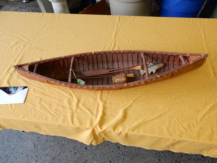Unique handmade Native American? Canoe
