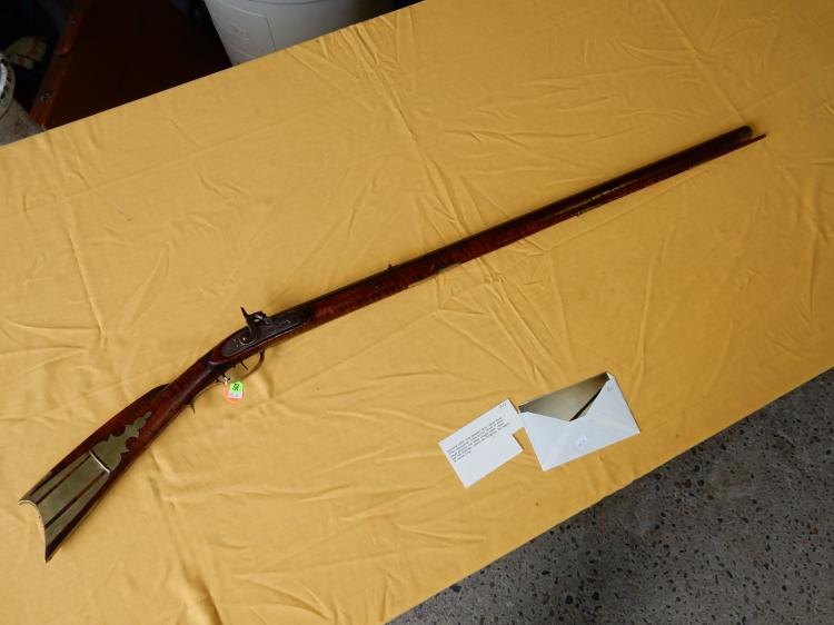 Nice antique Kentucky long rifle, from Delaware Ohio, circ 1840, No FFL required