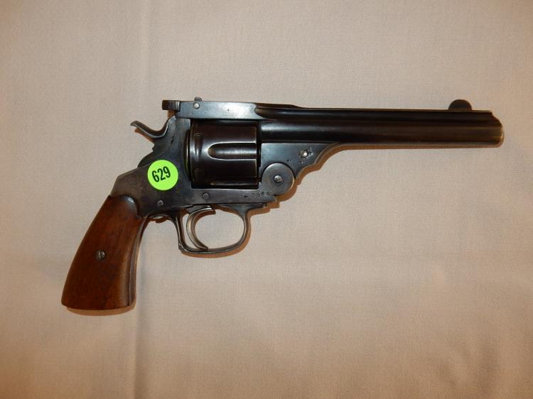 Vintage pistol / revolver, 44cal barrel stamped