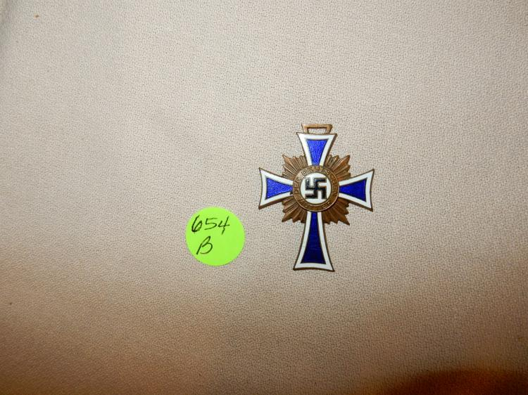 Original WWII German Nazi Mother's cross