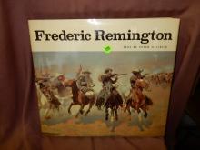 Vintage Hard bound book on Fredrick Remington