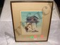 Theodore Lambert, (American, 1905-1960), summer camp, original framed artwork, watercolor, Theodore Roosevelt Lambert, Click for value