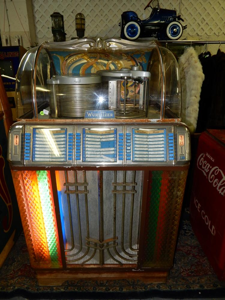 Amazing barn find! a working 1950 wurlitzer jukebox model 14