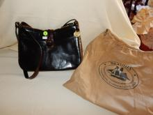 Near mint / unused? ladies quality designer handbag with dust cover pouch by Brahmin