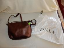 Near mint / unused? ladies quality designer handbag with dust cover pouch by Furla