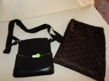 Near mint / unused? ladies quality designer handbag with dust cover pouch by Gucci