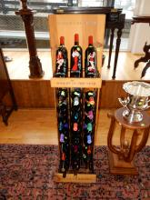 Commercial wine rack for Gallo of Sonoma wine. Special shipping required
