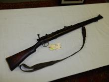 Vintage bolt action WWII rifle, marked GR B 1941 British 303, SN #M58602, untested/fired. Needs cleaning. **FFL paperwork & $25 fee required** See lot 0