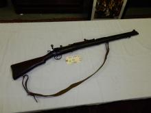 Vintage bolt action WWI rifle, marked GR B 1917 British 303, SN #H47898, untested/fired, needs cleaning. **FFL paperwork & $25 fee required** See lot 0