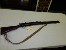 Vintage bolt action WWI rifle, MK4?, marked GR 1916 British, SN #38213, untested/fired, needs cleaning. **FFL paperwork & $25 fee required** See lot 0
