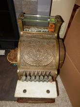 Antique National candy store cash Register Model 317 special shipping req