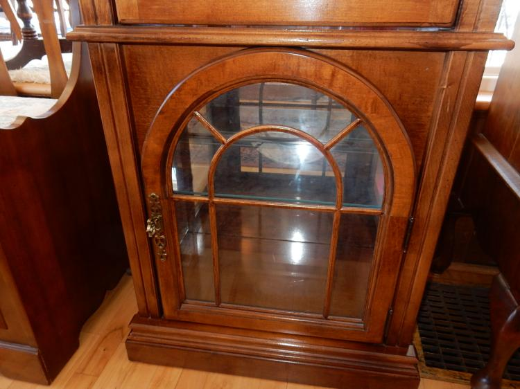 hamilton kitchen cabinets lovely modern arch door curio cabinet with mirrore 1535