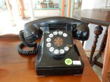 Antique dial style telephone, untested