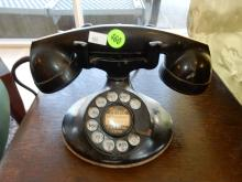 Antique dial telephone, untested