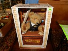 Original German Steiff teddy bear in original box,
