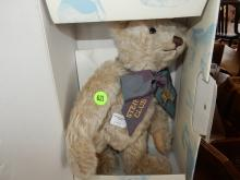 Original German Steiff teddy bear in original box