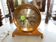 Rare Antique / vintage Theodore B. Starr New York ship's bell clock with keys and history