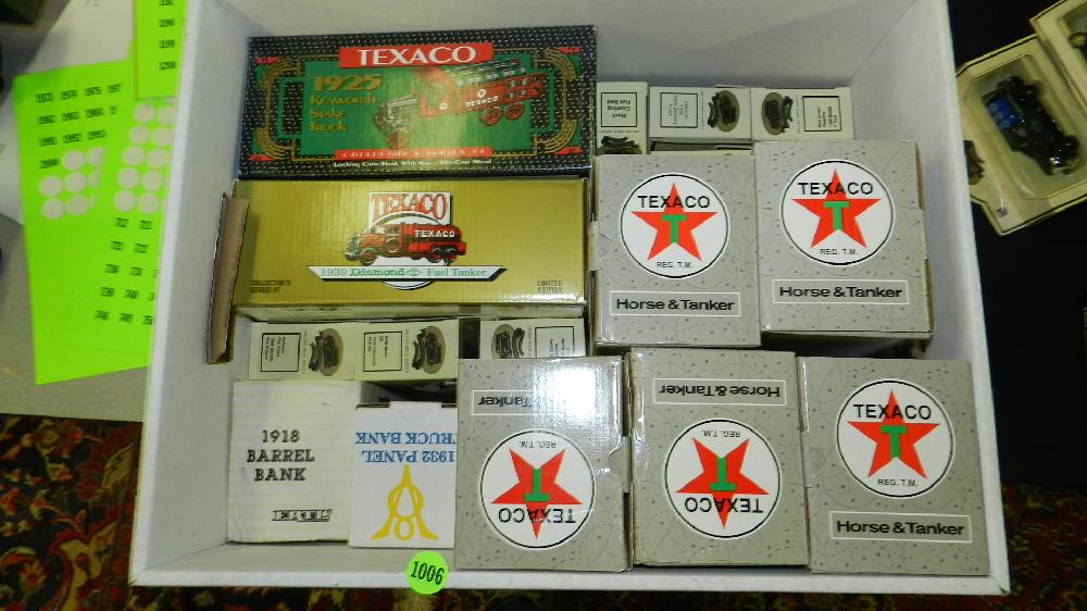 box of MIB toy cars