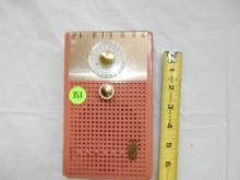 Nice vintage deco transistor portable radio, from private collection, Royal 200, free standing style